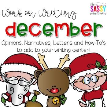 Work on Writing December