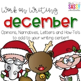 Work on Writing December