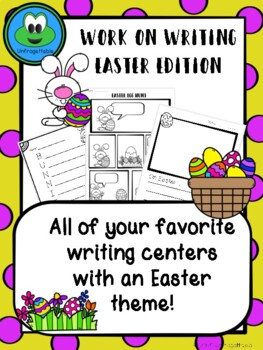 Work on Writing - Easter Edition