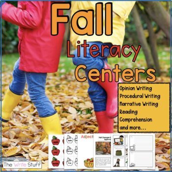 Fall Activities (Work on Writing)