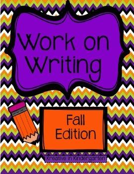 Work on Writing Fall Edition