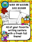 Work on Writing - Fall Edition
