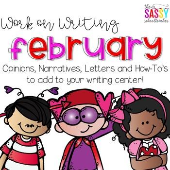 Work on Writing - February