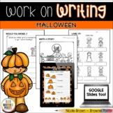 Work on Writing - Halloween