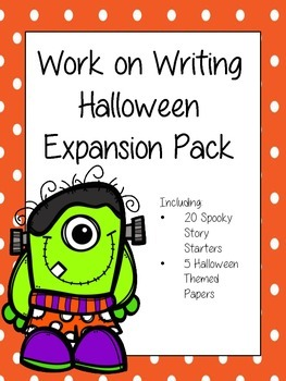 Work on Writing Halloween Expansion Pack