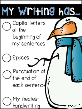 Work on Writing - January