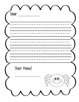 Work on Writing Letters