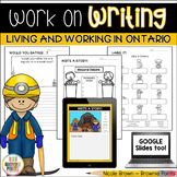 Work on Writing - Living and Working in Ontario