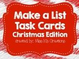 Work on Writing: Make a List {Christmas Edition}