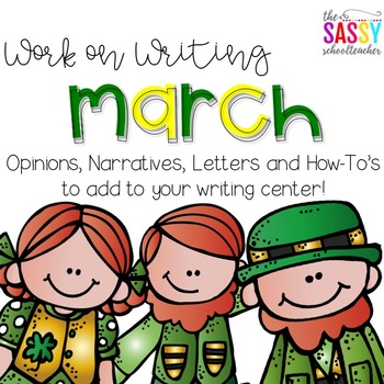 Work on Writing  March