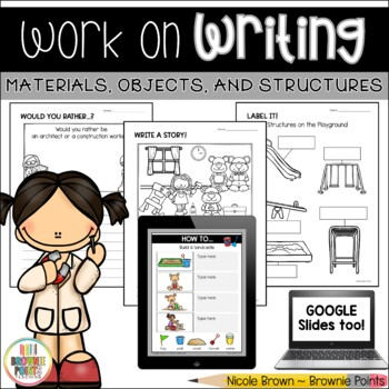 Work on Writing - Materials, Objects, and Structures