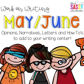 Work on Writing May/June