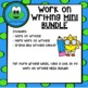 Work on Writing Centers Mini BUNDLE