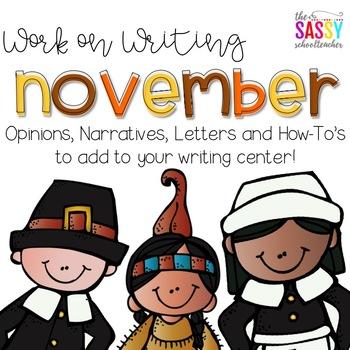 Work on Writing - November