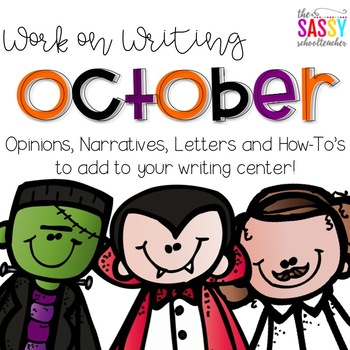 Work on Writing - October
