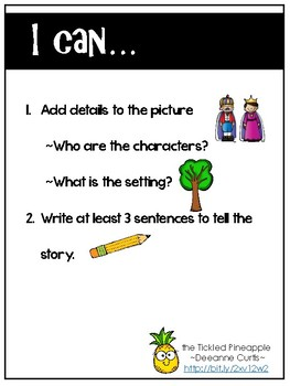 Work on Writing Paper_Actions