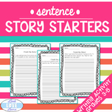 Sentence Story Starters Writing Activity