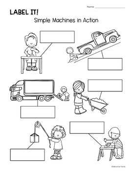 Work on Writing - Simple Machines and Movement