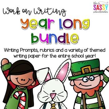 Work on Writing The YearLong Bundle!