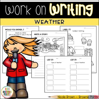 Work on Writing - Weather