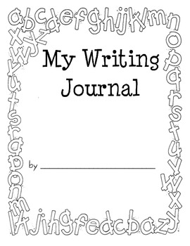 Work on Writing - Writing Journal Cover