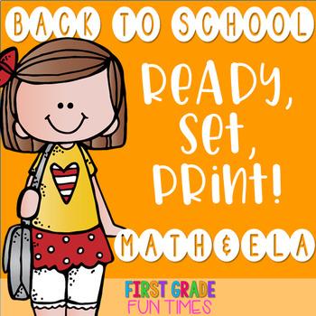 Back to School Cut & Glue