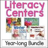 Literacy Centers Year Long Bundle