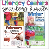 Literacy Centers Year Long Bundle