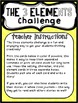 Work on Writing for Upper Elementary (Creative Writing): Three Element Challenge