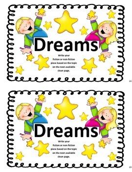 Work on WritingClass Journal Label:  Dreams
