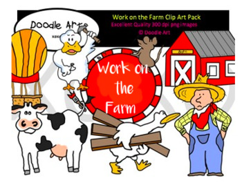 Work on the Farm Clipart Pack