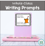 Work on writing - class journals