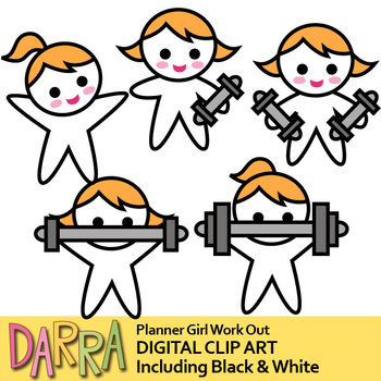 Work out clip art