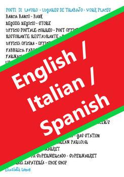 Work places: Lista dei posti di lavoro (Italian)