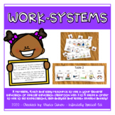 Work-system | Special Ed | Transitions | Task Analysis | Executive Functioning