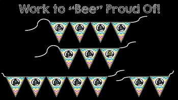 """Work to """"Bee"""" Proud Of Pennant"""