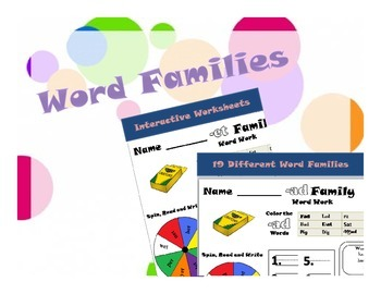 Work with Word Families