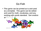 Work with Words Go Fish Game