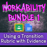 WorkAbility Bundle 1: Using a Transition Rubric with Evide