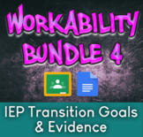 Workability Bundle 4: Transition IEP Goals & Evidence