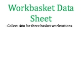 Workbasket Data Sheets