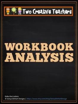 Workbook Analysis - Teaching Resource Chalkboard Theme