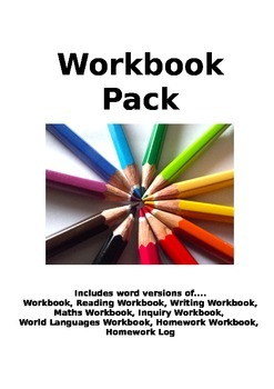 Workbook Collection - Marking and Expectation File (EDITABLE VERSION)