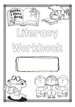 Workbook Cover Pages by J-Kan Teach | Teachers Pay Teachers