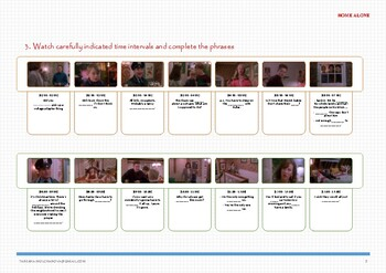 """Workbook """"English with TV series and movies. HOME ALONE-1"""""""