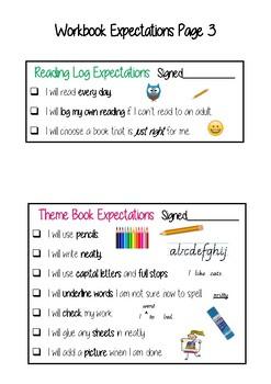 Workbook Expectations EDITABLE