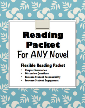 Reading Packet for ANY Novel