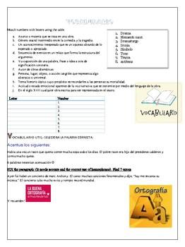 Workbook for AP Spanish Literature