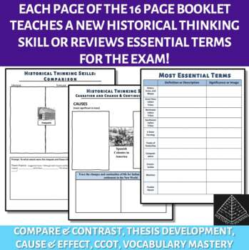 AP US History Skill Building Workbook Period 1