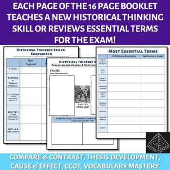 Skill Development Workbook for AP US History Period 2